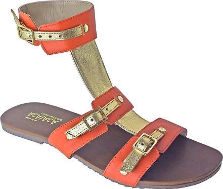 Modelo 546 sandália feminina em couro