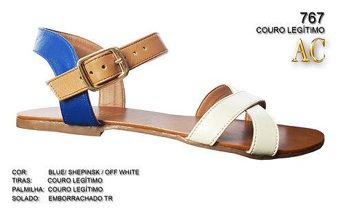 Modelo 767 sandália feminina em couro