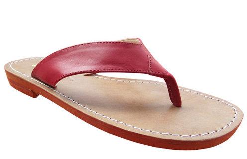 Modelo 204 sandália feminina em couro