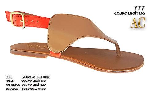 Modelo 777 sandália feminina em couro
