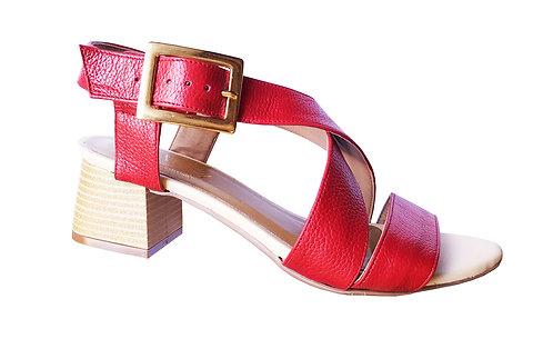 Modelo 2013 sandália feminina em couro