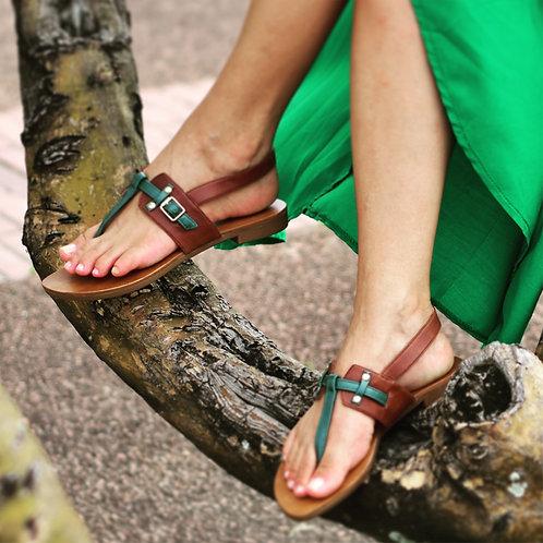 Modelo 850 sandália em couro legítimo.