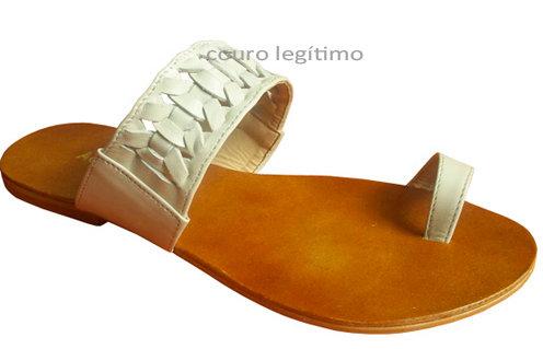 Modelo 604 sandália feminina em couro