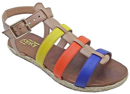 Modelo 740 sandália feminina em couro
