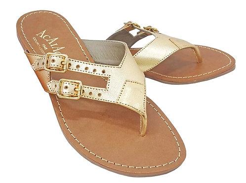Modelo 203 sandália feminina em couro