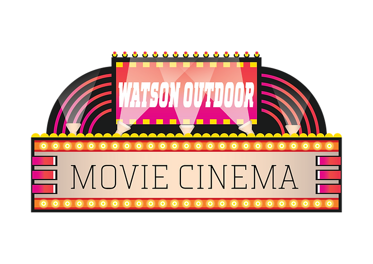 Watson Outdoor Movie Cinema logo.PNG