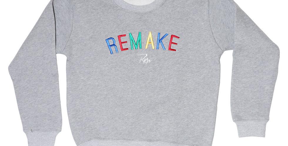 Grey Kids Statement Sweatshirt