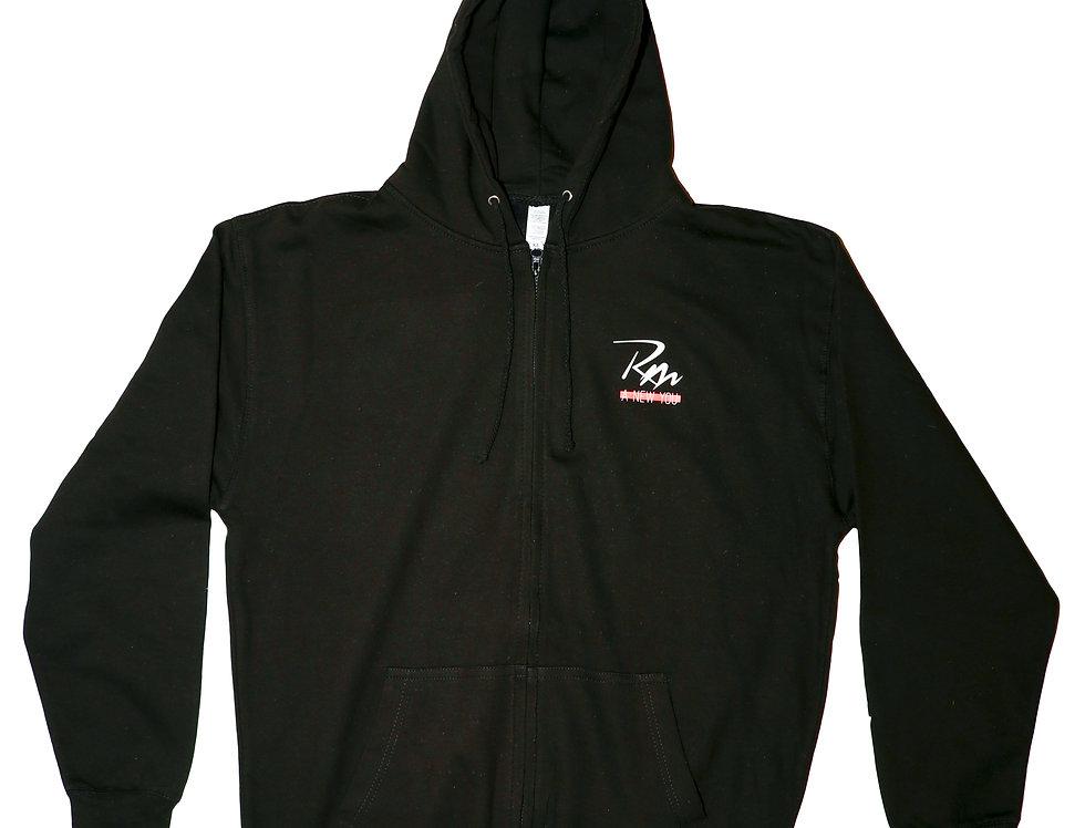 Remake Zip Up Logo Hoodie
