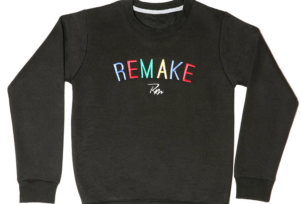 Black Kids Statement Sweatshirt