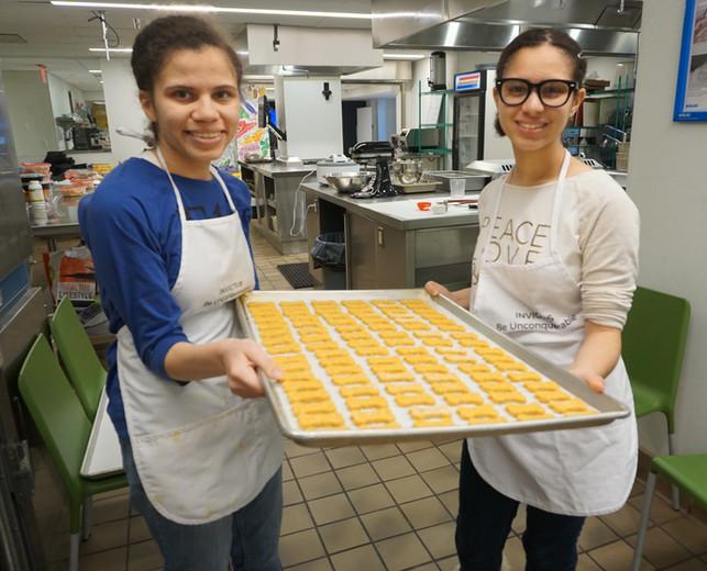 Sister Bakers make them like pros.JPG