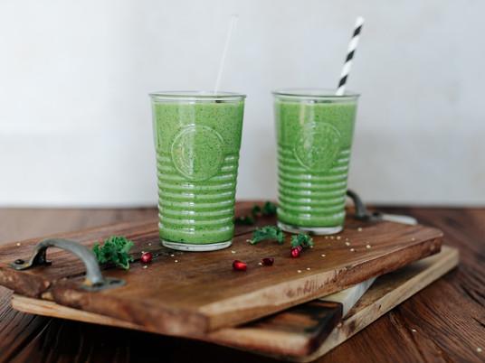 Lean, Clean & Green Smootie Challenge - Green Kale Smoothie
