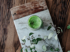Tag 19 Brennnessel Detox Smoothie