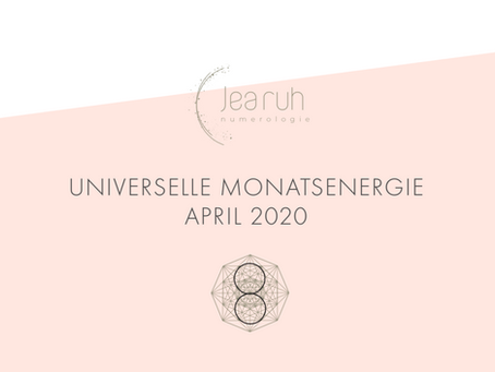 Monatsenergie April 2020