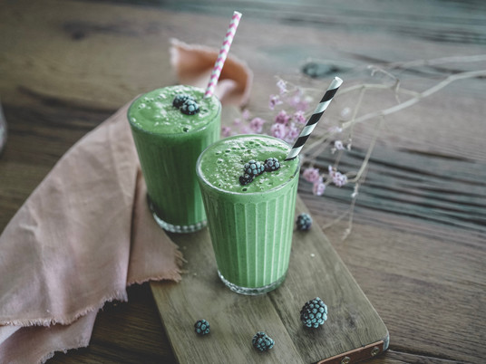 In love with Kale Smoothie