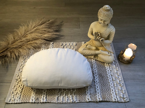 Half Moon Yoga Cushion