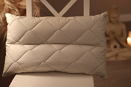 Ergonomic Pillow with two Compartments
