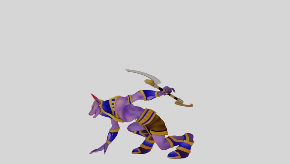 Movement animations