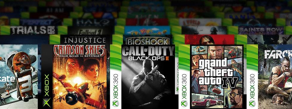 20 Jogos para Xbox 360 - Qualquer Desbloqueio (2.0/3.0/Rgh)