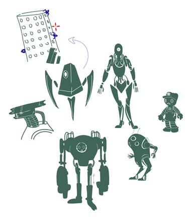 Enemy designs