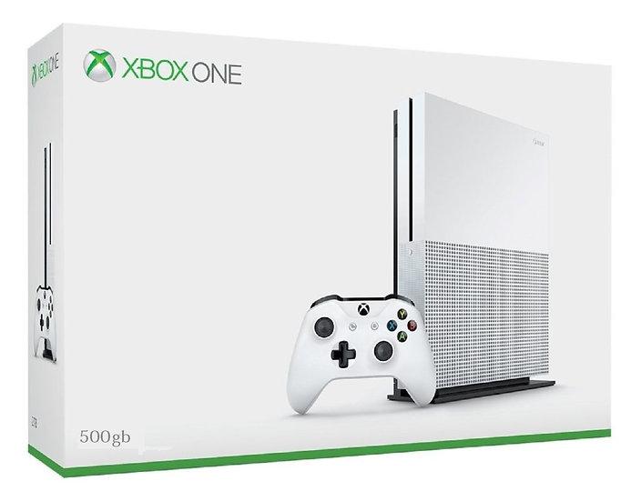 Xbox One S 1tb Bloqueado Novo + Lacrado