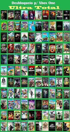 Desb. Xbox One + 350 Jogos + Netflix 4k 9 meses + Live Gold + GamePass