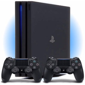 Playstation 4 Pro 1TB Bloq. Lacrado + Controle Extra