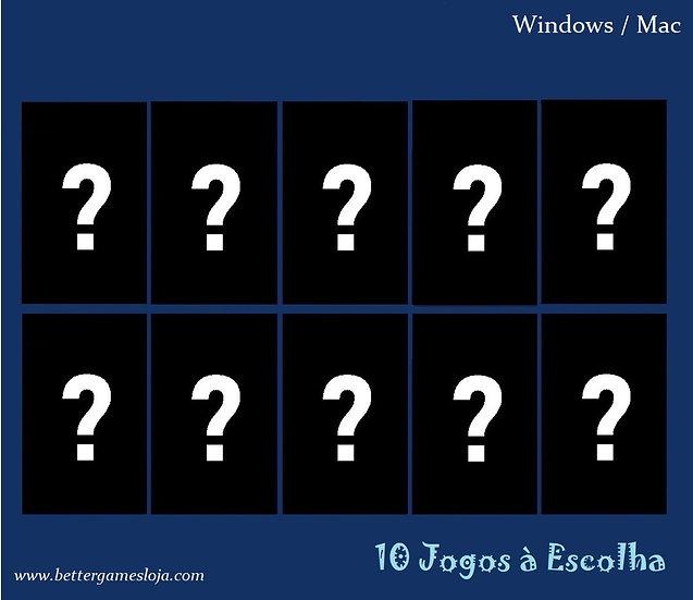 Desb. PC/Notebook + 10 Jogos à escolha!