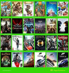 Desbloq. Xbox One + 24 Jogos Exclusivos + Netflix 4k 2 meses