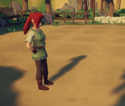Another animation for our NPC, planting a seed.