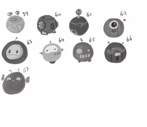 Designs for sidekick character