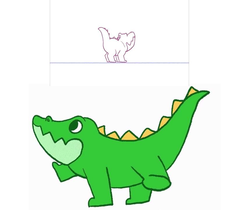 Turnaround Crocodile