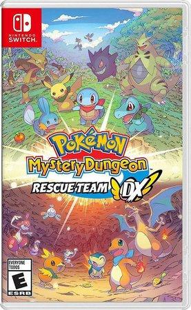 Pokémon Mystery Dungeon Rescue Team DX + 34 Jogos Exclusivos Nintendo Switch