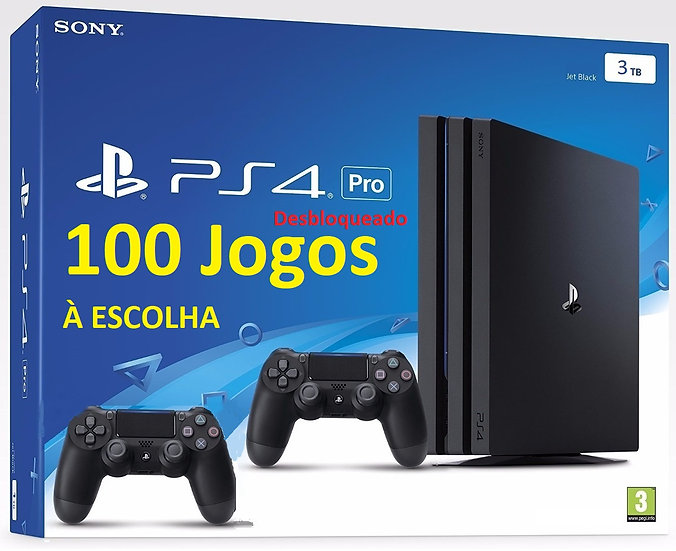 Playstation 4 Pro 1TB Bloq. + Controle Extra