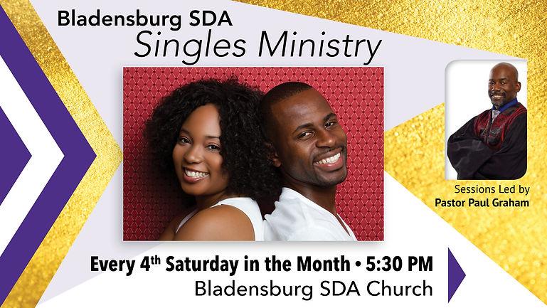 Bladensburg Singles Ministry, Pastor Paul Graham