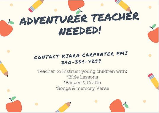 Adventurer Teacher Needed.jpg