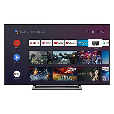 "TV intelligente Toshiba 50UA3A63DG 50"" 4K Ultra HD DLED WiFi Noir"