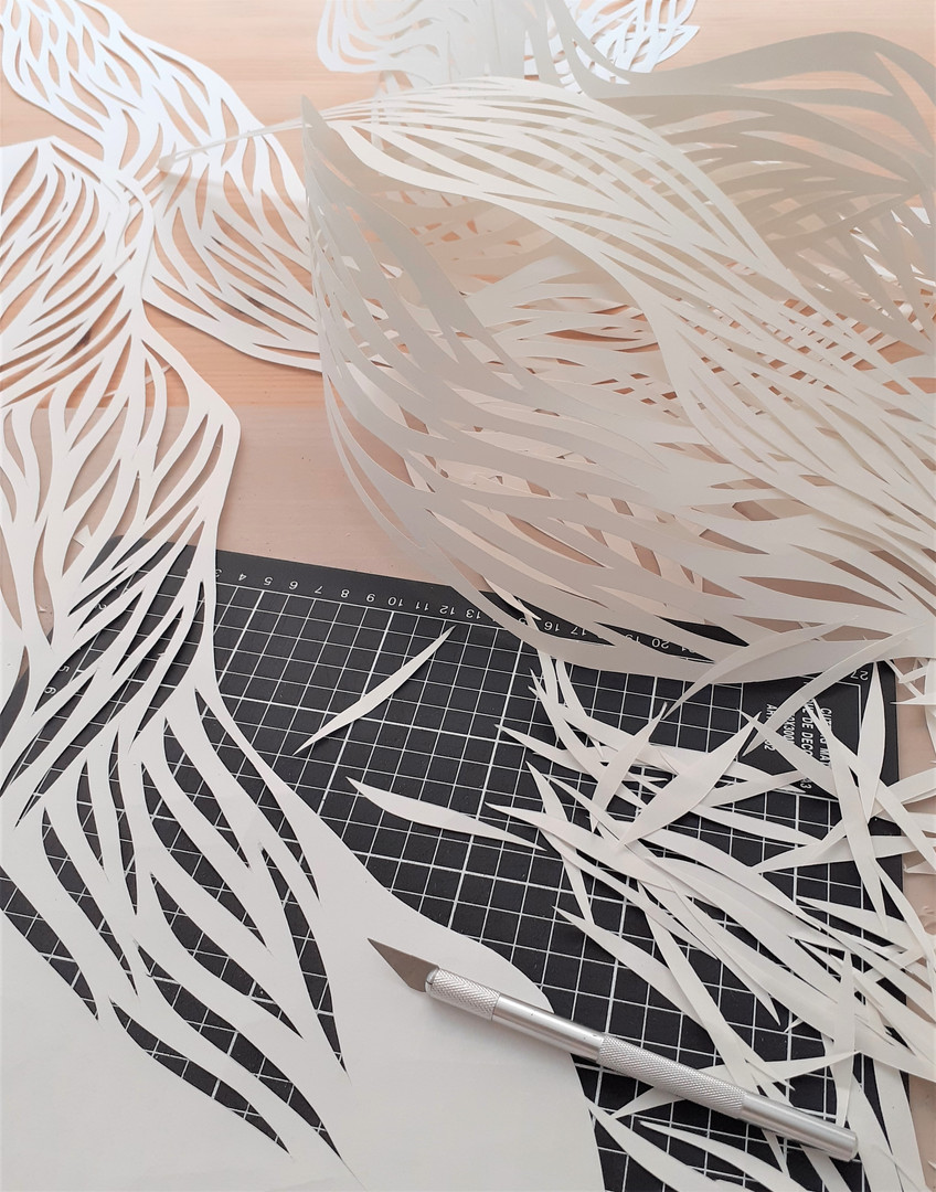 "Paper cuts for ""Origine"""