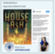Cover Reveal HOUSE OF ASH by Hope Cook