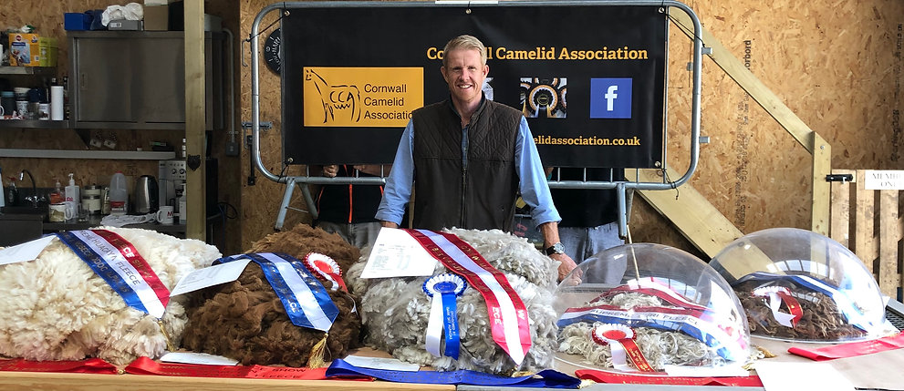 Tim Hey and the winning fleeces