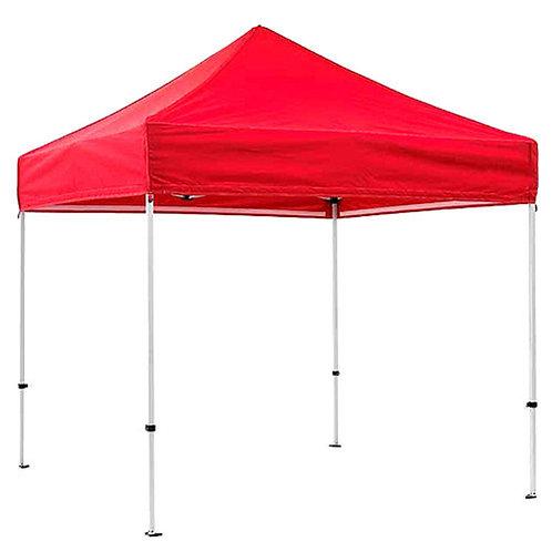 Gazebo Tent 6.5 x 6.5 Feet Red