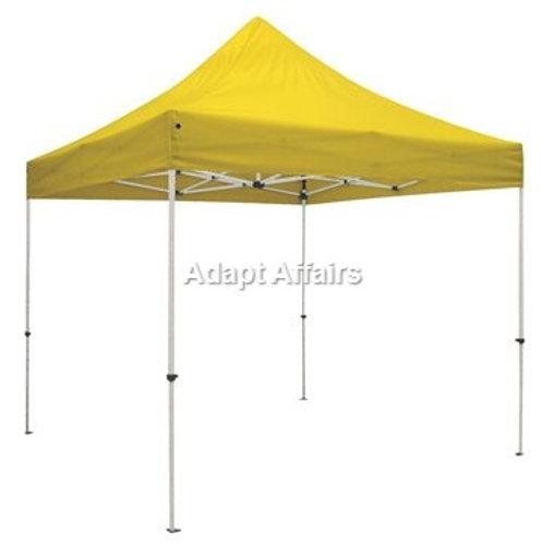 Gazebo Tent 6.5 x 6.5 Feet Yellow