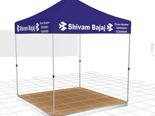 Promotional Tents for Bajaj
