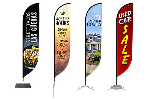Promotional Flags Customized Feather Flags