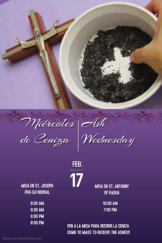 Copy of Ash Wednesday Service - Made wit