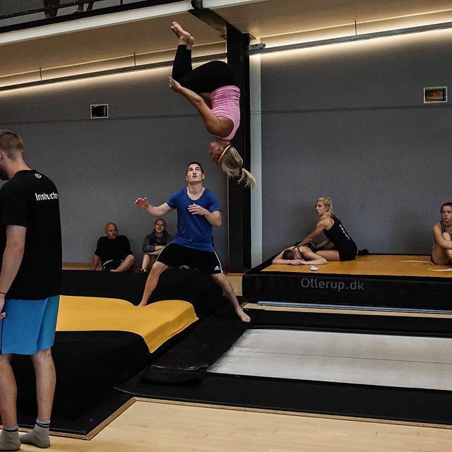 KTF supplerer med enda to gymnaster på landslaget i troppsgymnastikk!