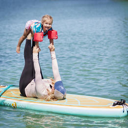 SUP Mommy & Me Yoga