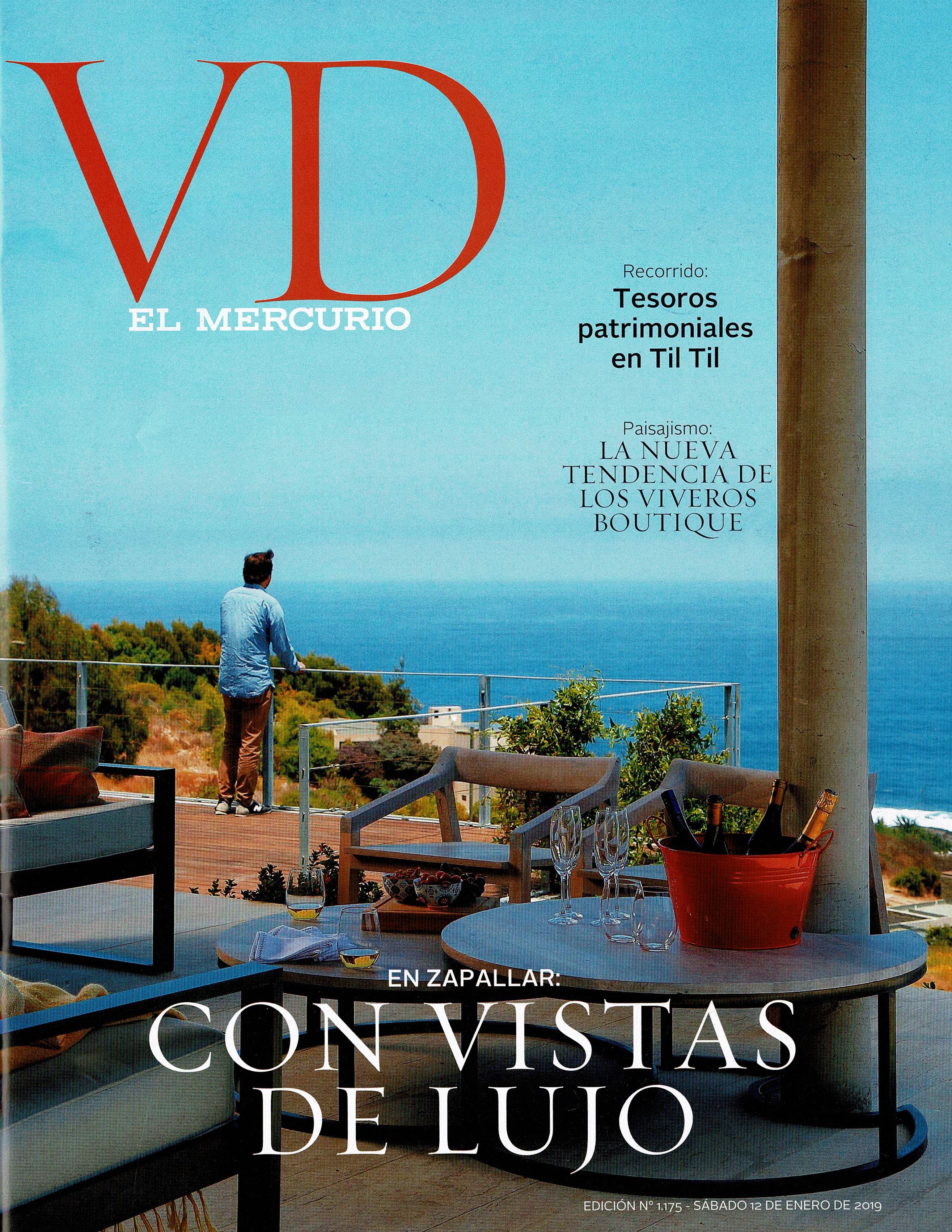 El Mercurio- Portada VD