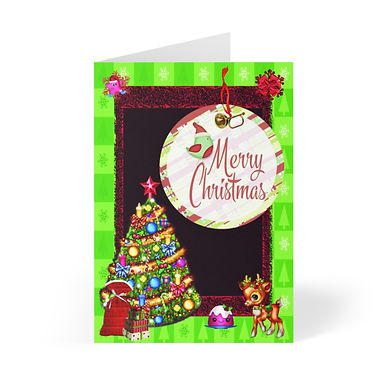Christmas 20181220 Greeting Cards (8 pcs)