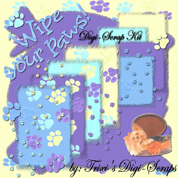 TDS0016 ~ Wipe Your Paws Kit