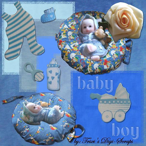 TDS0001 ~ Baby Boy Kit